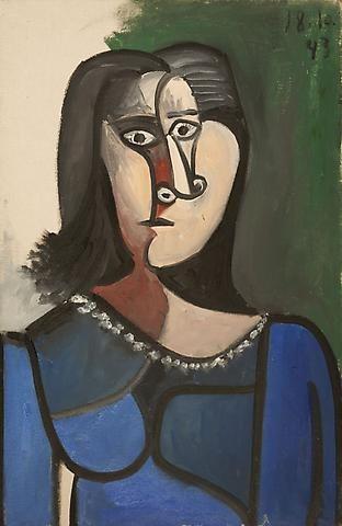 Picasso the mediterranean years 1945 1962 gagosian gallery eloge de l 39 art par alain truong - La chambre bleue picasso ...
