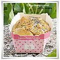 Cake champignons / olives noires