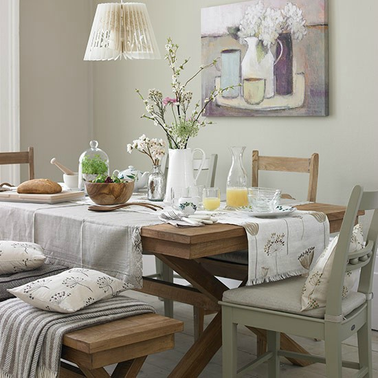 Neutral-dining-room-with-teak-table-and-cream-furnishings--Country-Homes-and-Interiors--Housetohome