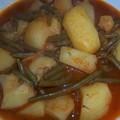 Marga pommes de terre haricots verts