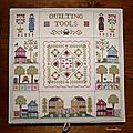 Orchard valley quilting bee, la fin et la finition!