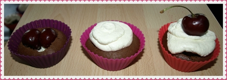 cupcake foret noire 5