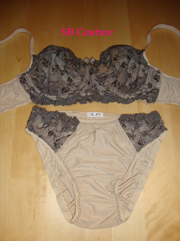 Ensemble lingerie sable 1