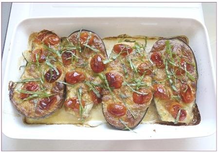 aubergines gratinées au fromage5