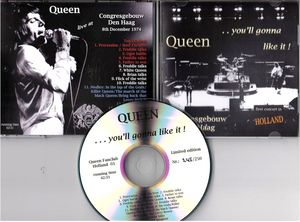 queen live holland 1974