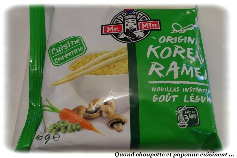 Crevettes aux curry vert et nouilles Coréennes-8187