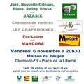 Concert Maison du Peuple - Nov 2009