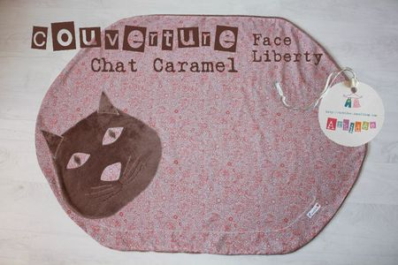 Chat Caramel face Liberty
