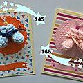 145, 146. cartes naissance