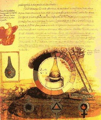 extrait de l'Alchimie de Flamel, par le Chevalier Denys Molinier