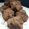 Truffes au chocolat : activité