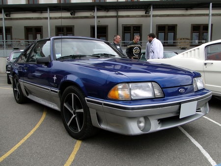 FORD mustang gt fox aero III 1987 1993 Bourse Echanges Autos Motos de Chatenois 2010 1