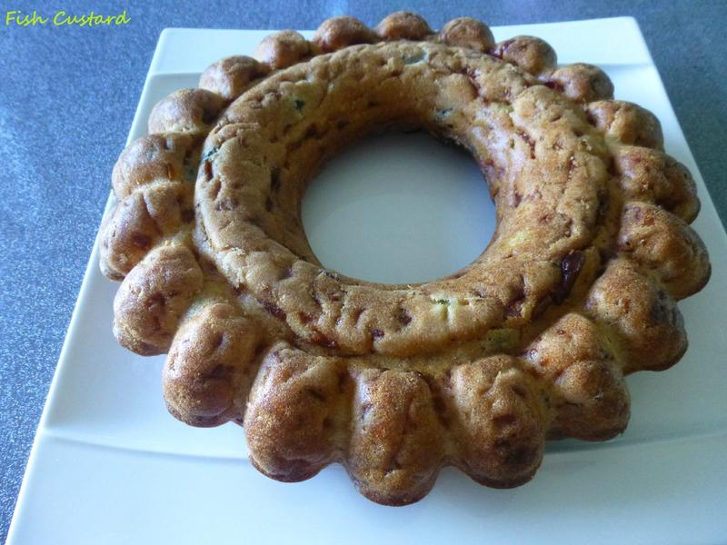 Cake de Sophie jambon olives (1)
