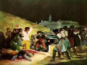 Fusillades du 3 mai 1808 de Goya
