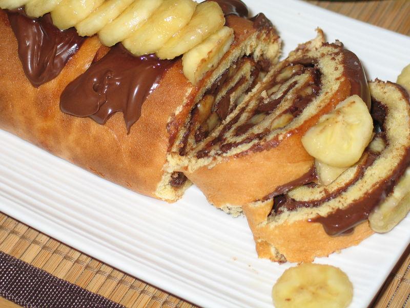 Recette de cake banane nutella