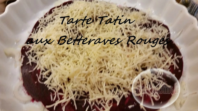 Tarte tatin aux betteraves rouges 2