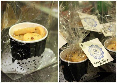 cadeaux gourmands faits maison sablé parmesan etiquette blog chez requia