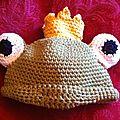 Bonnet grenouille petit de face