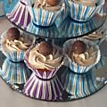 Cupcakes de christophe michalak version starbuck au chocolat