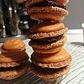 Macaron chocolat piment