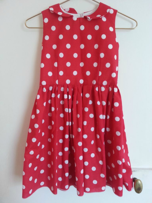 robe rouge a pois_09