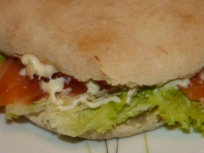 sandwich pain pita