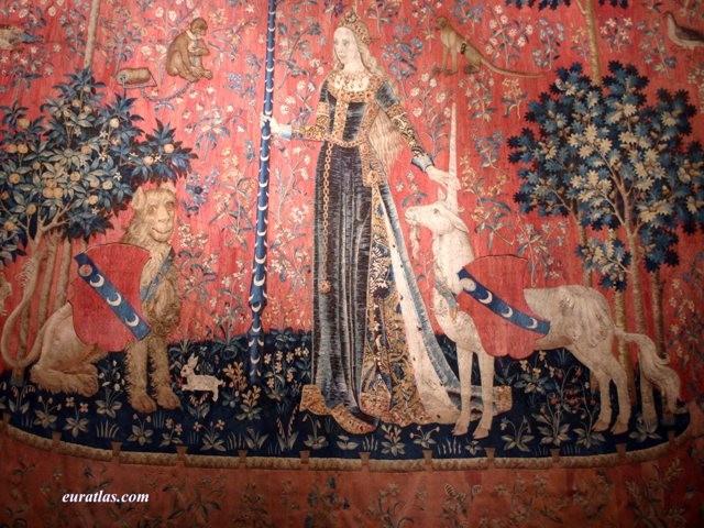 La dame la licorne de tracy chevalier vite direction - La tapisserie de la dame a la licorne ...