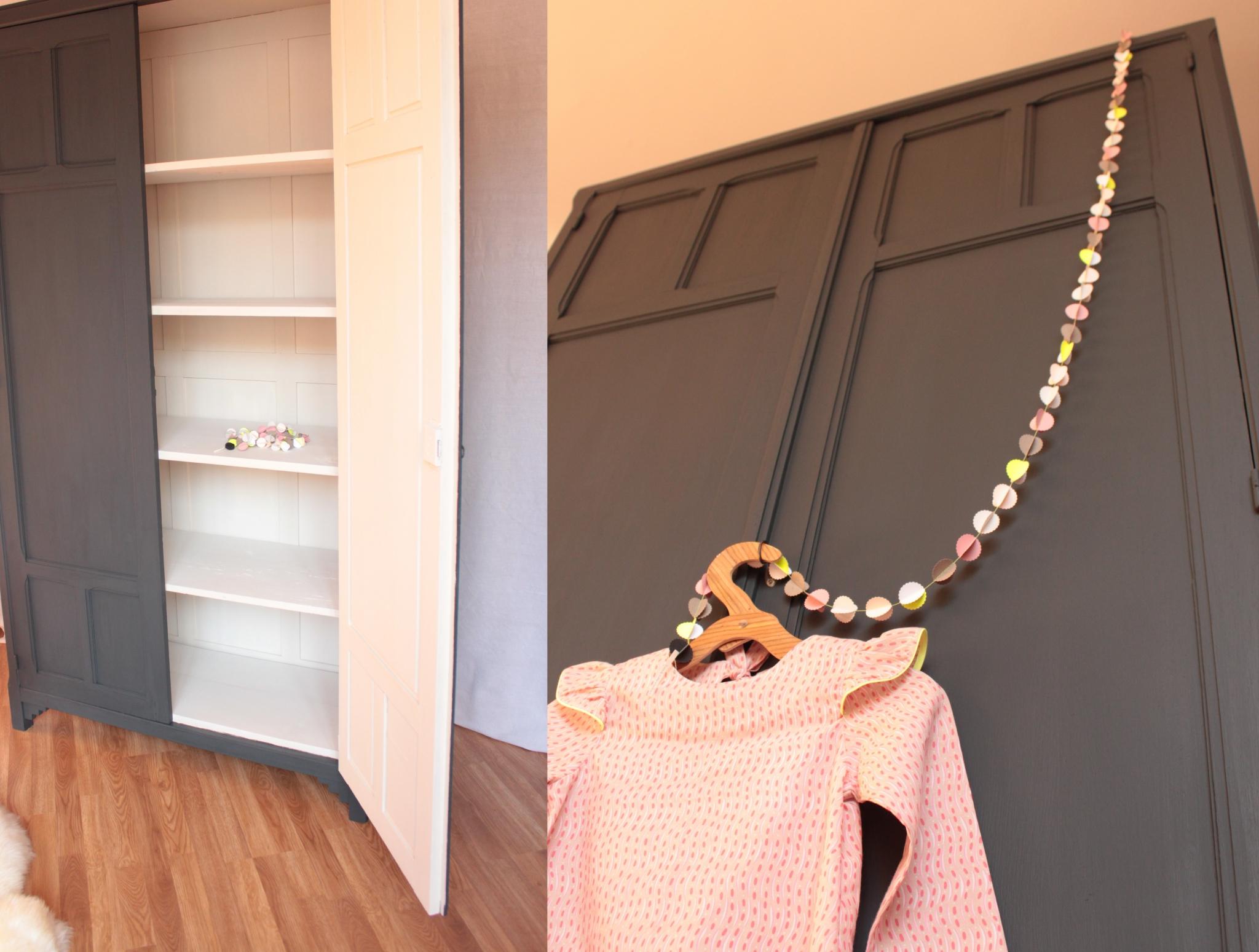 Grande armoire parisienne TRENDY LITTLE