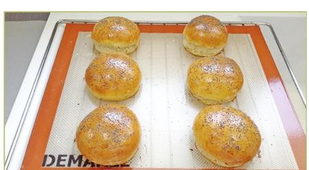 buns pour hamburgers maison12