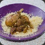 Tajine au poulet et figues