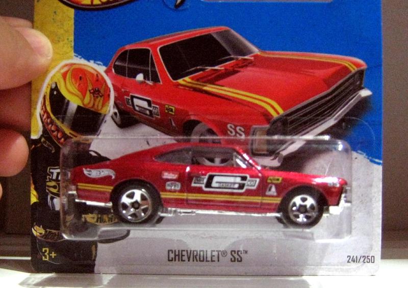 Chevrolet SS (2013)(Hotwheels)