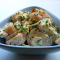 Salade de pommes de terre sauce ravigote