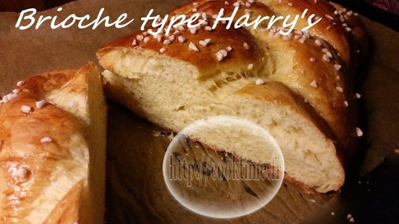 Brioche type harry's 2
