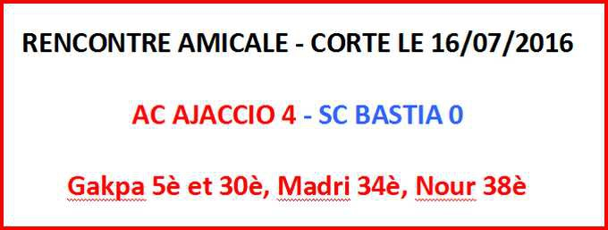 Rencontre amicale 56