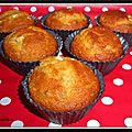 Muffins citron confit chocolat blanc...