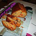 Cake aux tomates séchées et aux noix