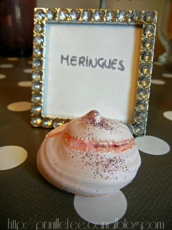meringues paillette