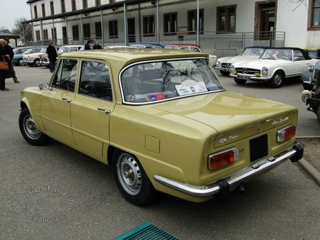 alfa romeo giulia nuova super, 1974 1977, Bourse de chatenois 2013 4
