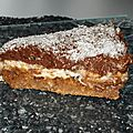 Bavarois noix de coco et chocolat