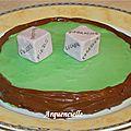Gâteau jeux de dés pour adultes