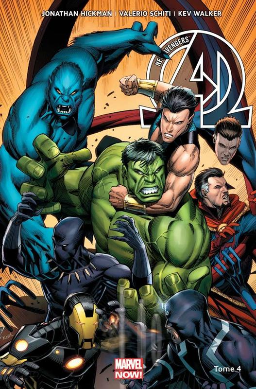 marvel now new avengers 04 un monde parfait