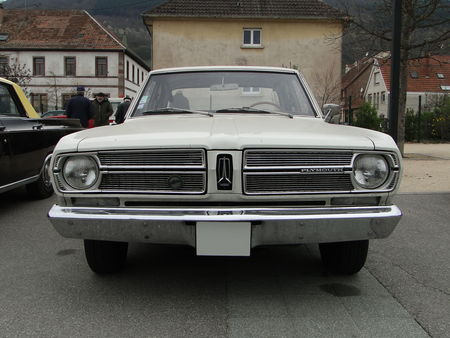 PLYMOUTH Valiant Signet 4door Sedan 1967 Bourse Echanges Autos Motos de Chatenois 2010 1