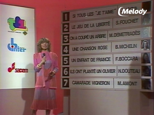 Evelyne Dhéliat 17860 Eurovision Qualification France Mars 1980