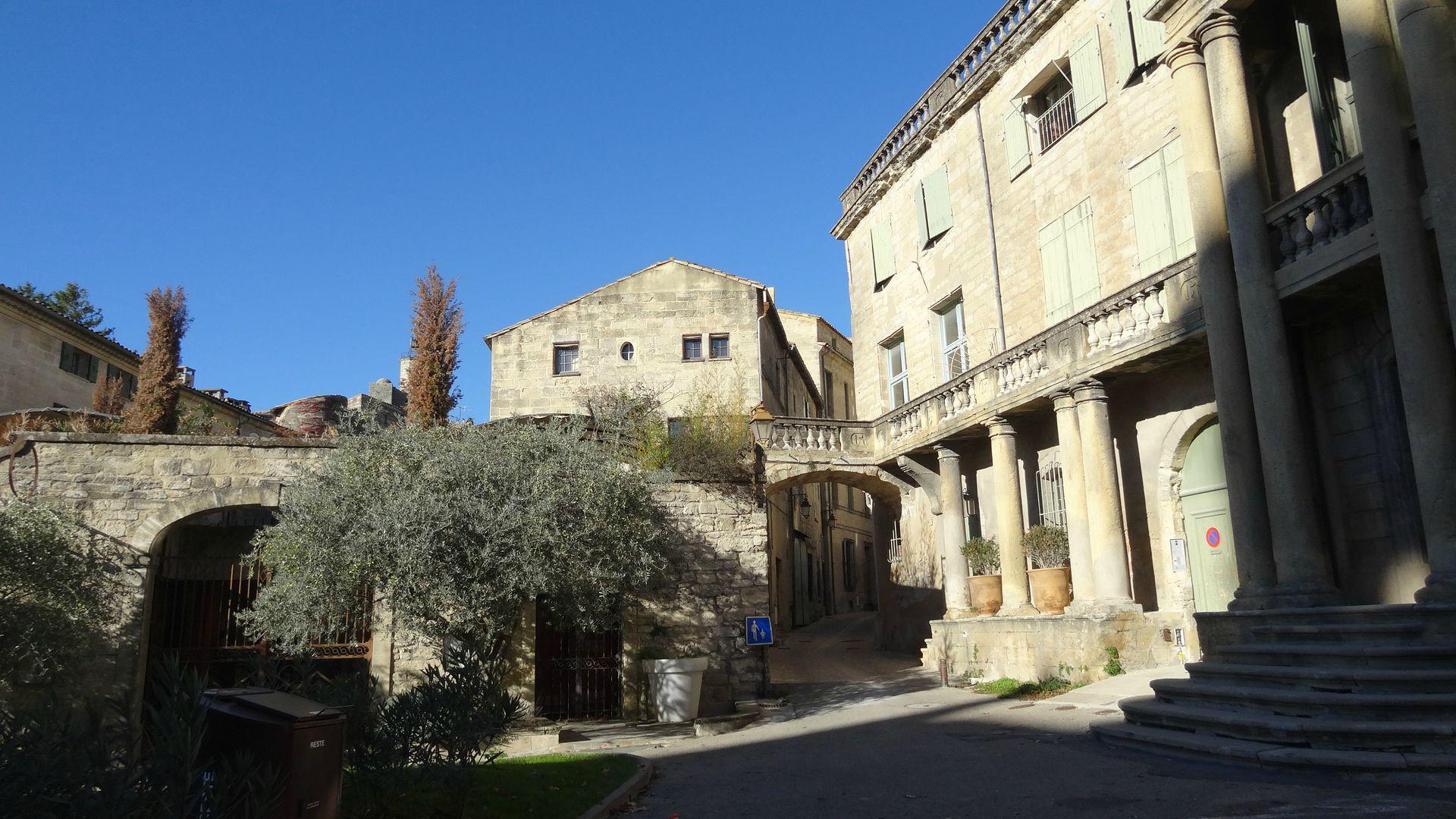 Uzès ... Quartier historique