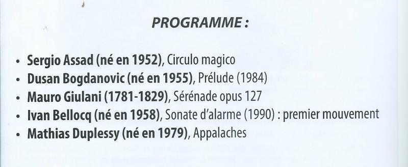 Brouilla programme