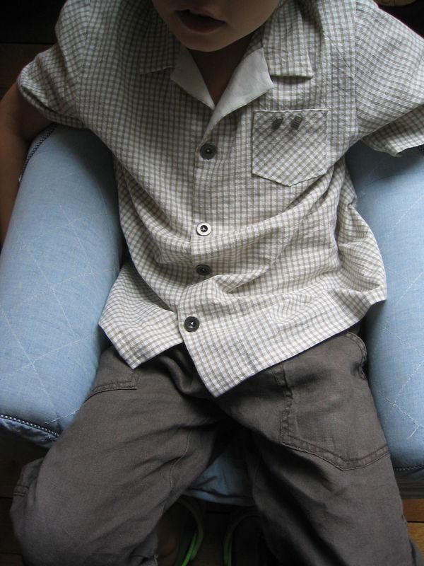 Chemisette les intemporels pour enfants taille 8 ans