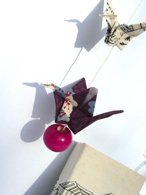 guirlande de grues origami miniature (2)