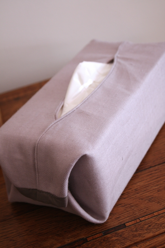 housse de boite de mouchoir