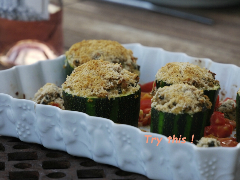 courgettes farcies pst