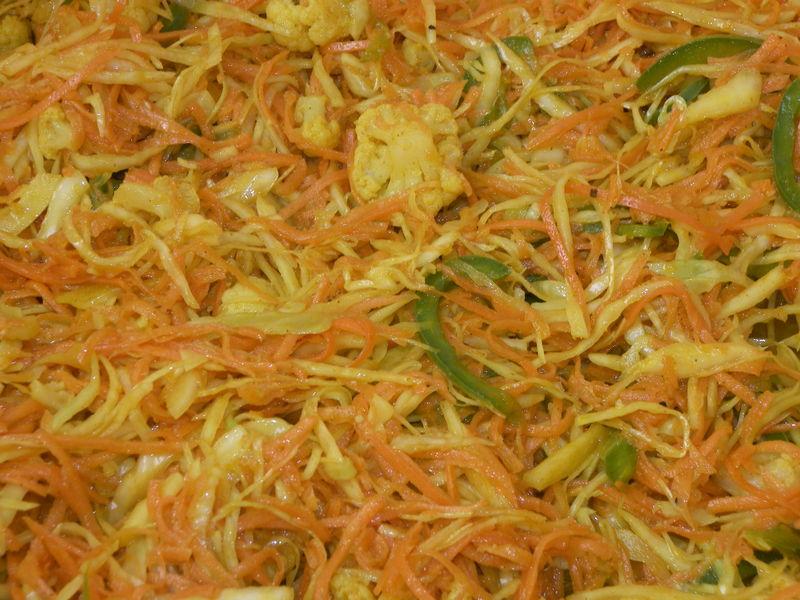 achards de légumes au curry de madagascar
